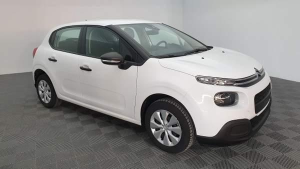 Citroën C3 blanche d'occasion